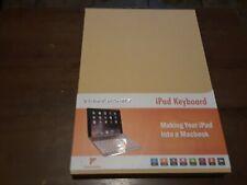 Keyboard Case V3  iPad Pro 10.5 - LED Backlit Keyboard Golden