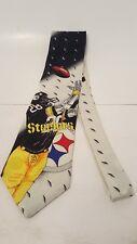 Football Pittsburgh Steelers 100% Imported Silk Tie