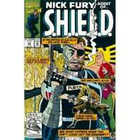 Nick Fury: Agent of SHIELD (1989 series) #43 in VF + cond. Marvel comics [*3b]