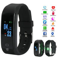 Smart Band Watch Bracelet Wristband Fitness Blood Pressure Heart Rate Tracker