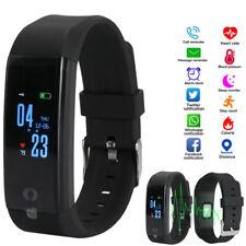Smart Band Watch Bracelet Wristband Fitness Blood Pressure Heart Rate Tracker