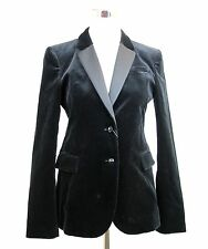$1950 NEW Authentic Gucci Velvet Tuxedo Jacket Blazer Coat, 44, 323598 1000
