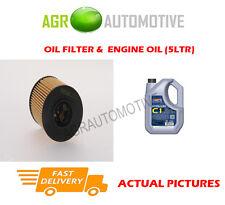 DIESEL OIL FILTER + C1 5W30 ENGINE OIL FOR VOLVO C70 2.0 136 BHP 2007-11