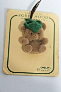 Collectible Pins - Robin Hood Bear Pin  - VINTAGE - Circa late 1990's