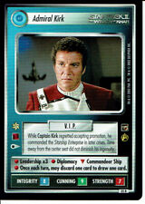 STAR TREK CCG THE MOTION PICTURES RARE CARD ADMIRAL KIRK