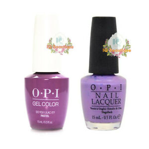 OPI Matching GelColor & Nail Polish Lacquer Duo - **Pick Any**
