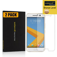 [2-Pack] SOINEED Tempered Glass Screen Protector Film Saver For HTC 10 / M10