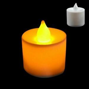LED Candle Multicolor Lamp Simulation Color Flame Light Home Party Decoration 1