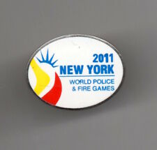 2011 New York World Police & Fire Games Lapel /  Hat Pin