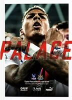 Crystal Palace v Newcastle United Premier League Programme 19/20