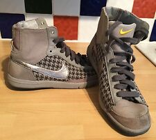Nike Blazer Mid Grey/Silver Trainers Size UK 4.5 US 7 EU 38 Running 313722-902
