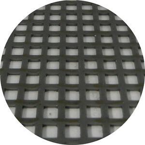 Mild Steel Perforated Sheet 2m x 1m x 1.5mm C5 U7.5 Bin 36 - 500115212