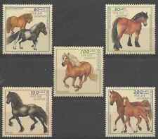 Timbres Chevaux Allemagne 1572/6 ** lot 27153