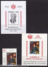 Monaco - Prince's M/S's - U/M - 2005 + 2006 + MonoacoPhil 'Bundle'