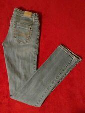Aeropostale Bayla Skinny Light Wash Blue Jeans Size 2 Reg/Normal