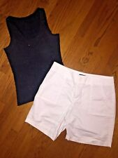 Lot Lee Rider Jean Dress Shorts Victorias Secret Tank Top Large Women's SZ 14 !