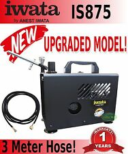 NEW IWATA IS875 SMART JET PRO COMPRESSOR POWER TANK SPRAY PRESSURE PSI DUTY