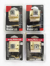 Lane / Black & Decker Awning Window Locks x 4 Same Key Code