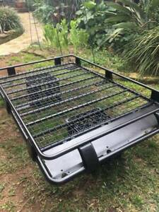 ARB Deluxe Roof Rack 3/4 length steel 1180mm W x 1850mm L