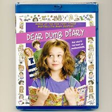 Dear Dumb Diary 2013 PG children girls family movie, new Blu-ray + DVD Hallmark