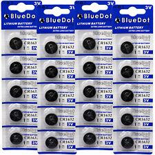 20 pcs CR1632 CR 1632 3V Lithium Coin Cell Button Battery Batteries ~USA SHIPPER