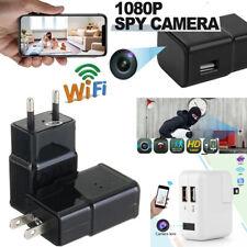 HD 1080P Hidden Camera Security Wifi Nanny Cam USB Wall Charger Adapter Plug cam