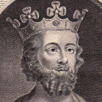 Portrait XVIIIe Edouard II Roi D'Angleterre  Edward II of England Caernarvon