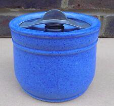 Vintage ROYAL DOULTON Blue Tobacco Jar
