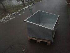 Heckcontainer Heckmulde Kippmulde Mulde Kippcontainer 100 cm verzinkt BBS Forst