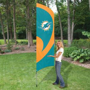 Miami Dolphins Feather Flag 2 1/2 x 8 1/2