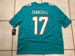 NWT NIKE Miami Dolphins Ryan Tannehill NFL STITCHED Jersey Men's 2XL  MSRP $150