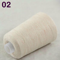 NEW Luxurious Soft 100g Mongolian Pure Cashmere Knitting Cone Wool Yarn 02 Cream
