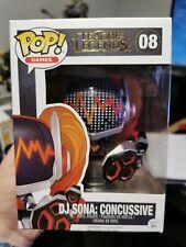 League Of Legends - DJ Sona: Concussive Funko Pop! Vinyl Figure