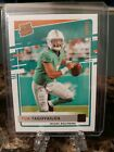 Tua Tagovailoa Donruss Bronze Canvas Rated ROOKIE CARD 302 Rookie Dolphins. rookie card picture