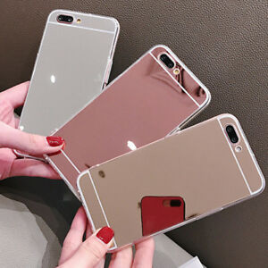 Luxury Silicone Mirror Soft Phone Cover Bumper Back Case For Samsung Galaxy #1