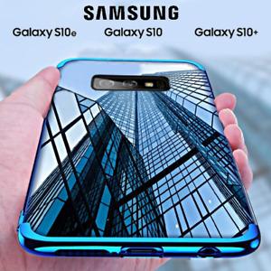 COVER per Samsung Galaxy S10 /S10e/ S10 Plus CUSTODIA ORIGINALE Electro TPU Slim