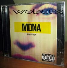 MADONNA MDNA WORLD TOUR 2 CD NUOVO SIGILLATO