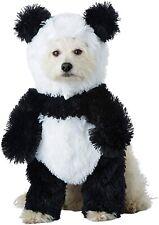 Panda Bear Dog Costume Pet Animal Cute Fur Furry Dress Up Puppy Pooch Plush Gift