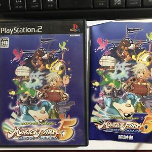 Used PS2 Monster Farm 5 Circus CaravanJAPAN NTSC-J (Japan)
