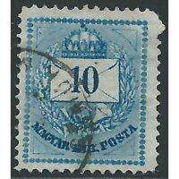 Hungary - 1871 - SG11 - Blue - 10k - envelope design. CV, £37