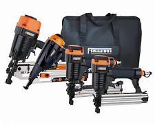 Freeman P4FRFNCB Finishing Nailer Combo Kit - 4 Pieces