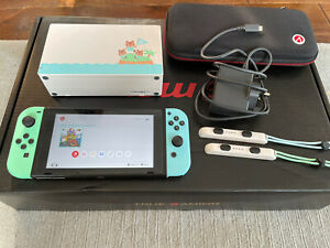 Nintendo Switch Console Animal Crossing: New Horizons Edition