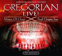 GREGORIAN - LIVE! MASTERS OF CHANT-FINAL CHAPTER TOUR LIMITED 2CD+DVD NEU