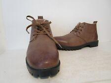 Coronado Mens Comm-2 Fleece Lined Oxford Chukka Ankle Boot Shoe Camel Size 8.5