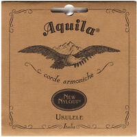 Aquila Nylgut Sopran Ukulele Saiten Set AQ-4U Regelmäßiges Abstimmen Gcea High G
