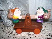 McDonald's Snow White and Seven Dwarf's Coal Car