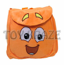 GO DIEGO GO PLUSH BACKPACK! SOFT ORANGE RESCUE PACK! BOY DORA THE EXPLORER NWT