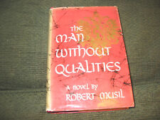 The Man Without Qualities Robert Musil stated 1st ed '53 HB w/DJ hardback rare!