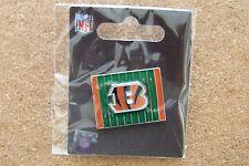 2013 Cincinnati Bengals logo yardage lapel pin NFL
