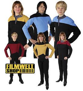 STAR TREK  Uniform - Next Generation - DS9 - Voyager S-XXXL - Filmwelt Berlin